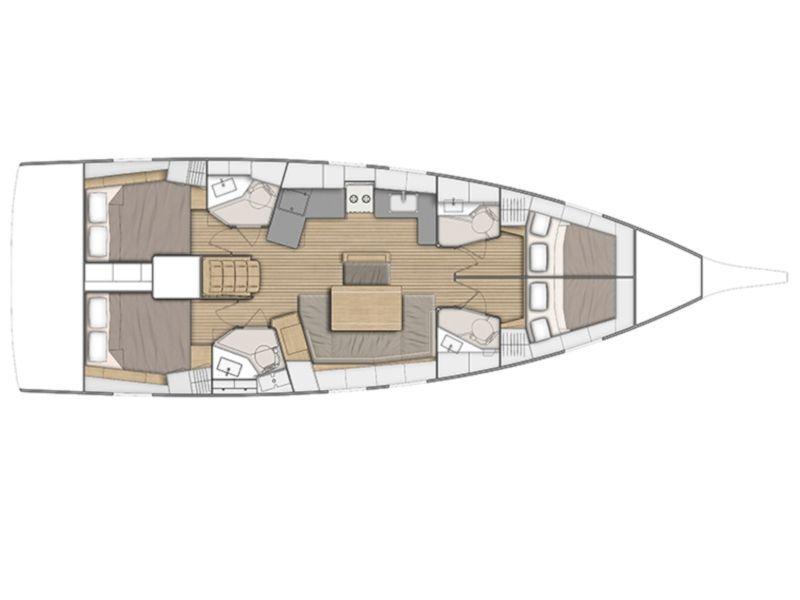 Sailing Delta 46